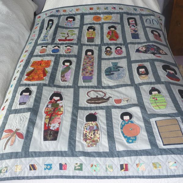 In Abercynon Rhondda Cynon Taf: Talking Quilts