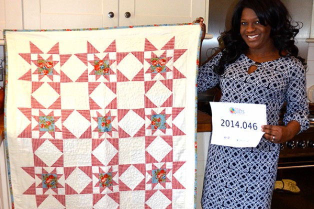 Talking quilts in Today's Quilter