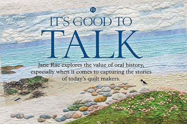 It's good to talk