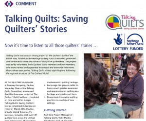 Talking Quilts: Saving Quilters' Stories